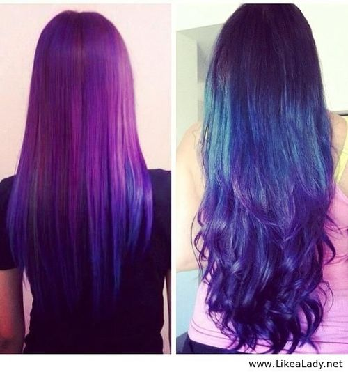 Galaxy hair dye tutorial the trend solutioingenieria Images